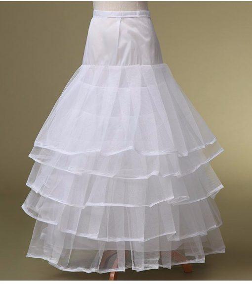 Ruffle Layered Crinoline Skirt 1