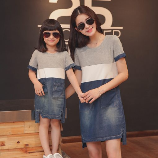 Midi Style Matching Mommy and Me Outfit 1