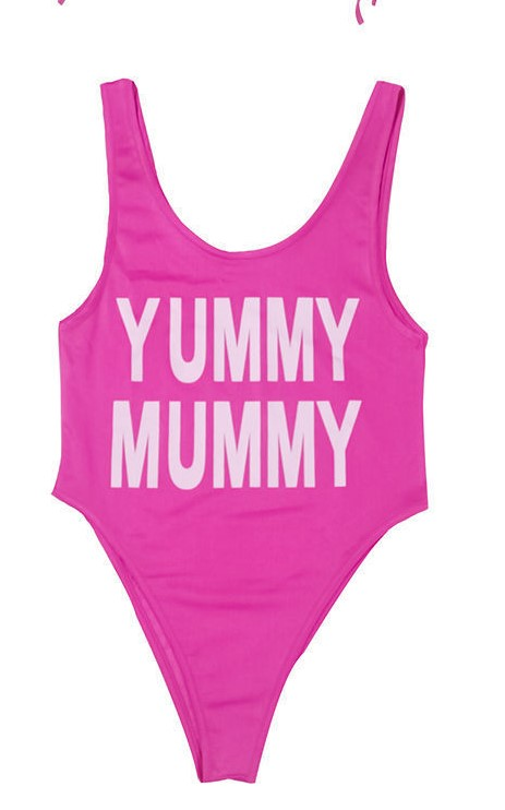 Pink Yummy Mommy and Me Swimwear 2