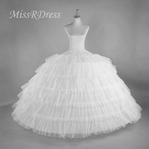 6 hoop Skirt for Wedding Dress 1