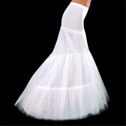 Amazing Mermaid Pattern Crinoline Hoop Skirt 2
