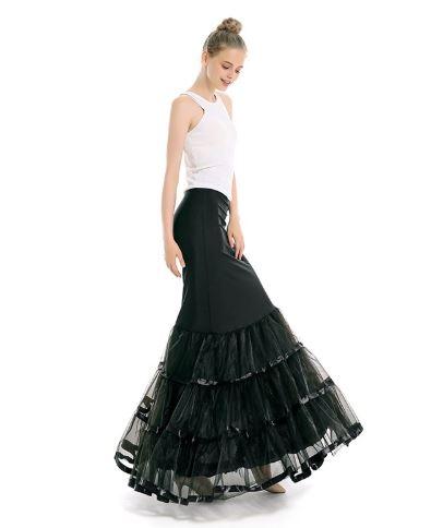 3 layer Mermaid Crinoline Skirt 2