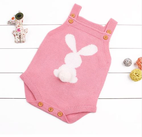 Adorable Easter Festival Jumpsuit for Infants 1