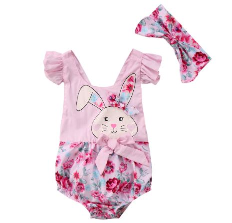 Happy Easter Romper For Infants 1