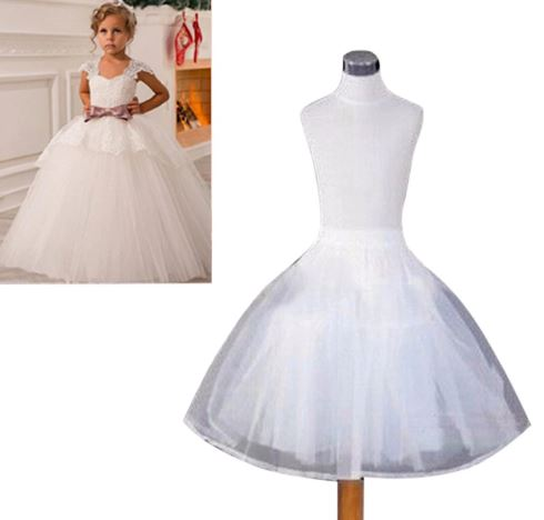 Ball Gown Crinoline Skirt For Kids 1