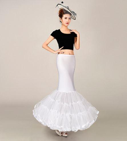 Mermaid Pattern Crinoline Skirt 1