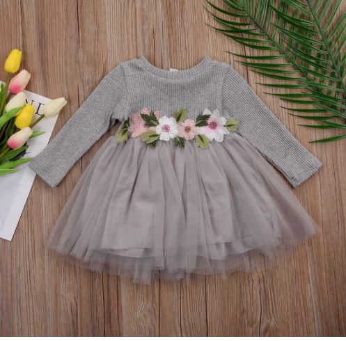 Classy Easter Festive Dress for Infant Baby Girls 1