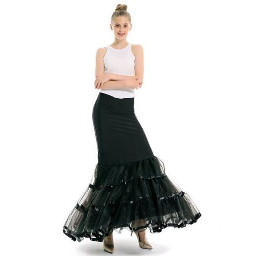 3 layer Mermaid Crinoline Skirt 1