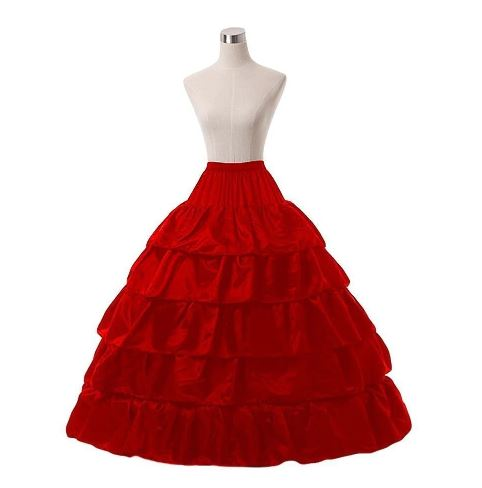 Ball Gown 6 hoop Wedding Skirt 1