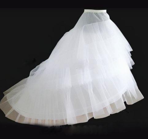 Girl Ball Gown Crinoline Bridal Skirt 1
