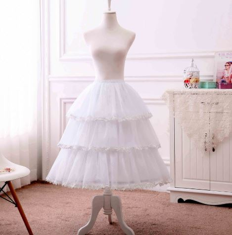 3 Layered Hoop Skirt For Women 1