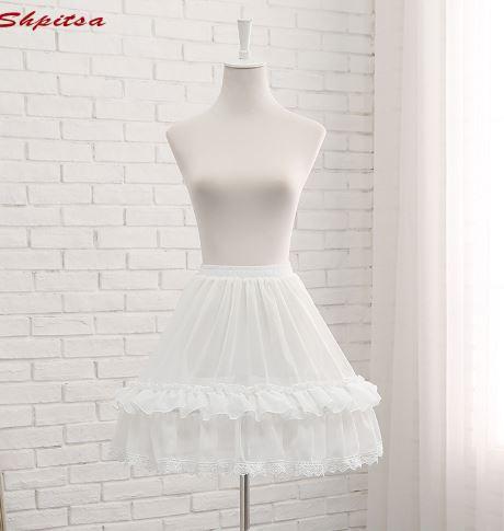Short White Crinoline Skirt 1