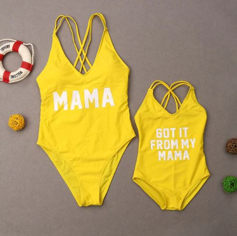 Mommy and Me Matching Swimsuit 1