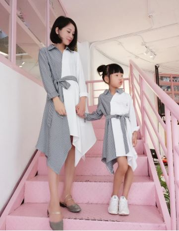 Adorable Mommy and Daughter Outfit 2