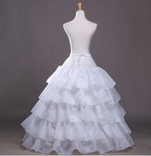 Wedding Dress Ball Gown 6 hoop Crinoline Skirt 1