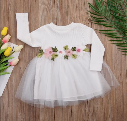Adorable White Easter Dress 1