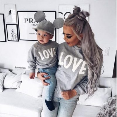 mother and daughter sweaters