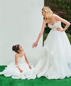 mother daughter matching wedding dress
