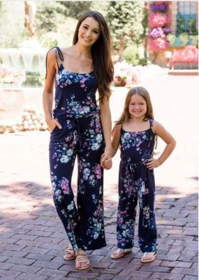 mother daughter rompers
