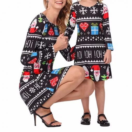Trending Mom Daughter Christmas Dress 2019 1