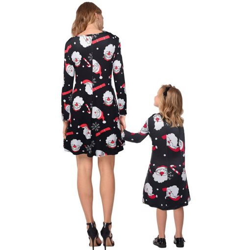Best Mommy and Me Matching Christmas Dress [Latest] 3