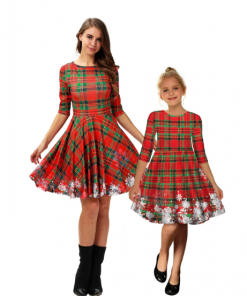 Family matching Dress