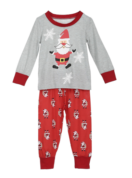 All New Christmas Family Pajamas Set 3
