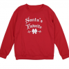 Enchanting Family Matching Santa Warm Tops 4