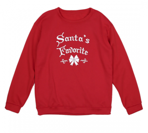 Enchanting Family Matching Santa Warm Tops 2