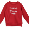 Enchanting Family Matching Santa Warm Tops 3