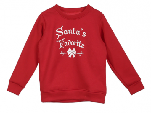 Enchanting Family Matching Santa Warm Tops 1