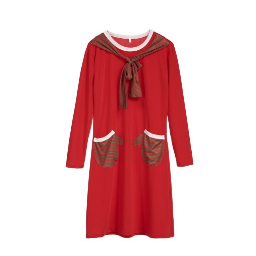 Brand New Mother Daughter Santa Themed Dress 1