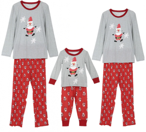 All New Christmas Family Pajamas Set 1