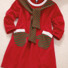 Brand New Mother Daughter Santa Themed Dress 5