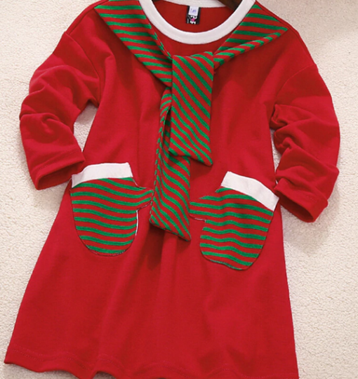 Brand New Mother Daughter Santa Themed Dress 2