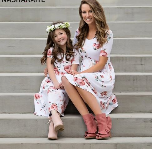 Mother Daughter Maxi Dresses