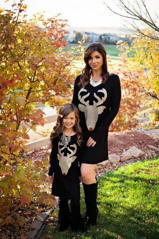 Engaging Mother Daughter Christmas Dress 1