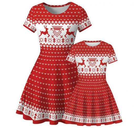 Mommy and Me Matching Christmas Dress for 2020 1