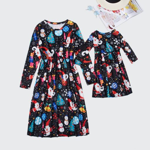 Precious Mother Daughter Christmas Dress 4